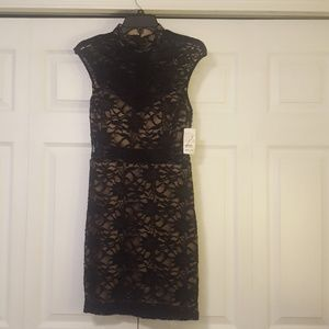 Lacy homecoming dress